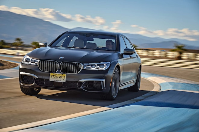 2017 BMW M760i XDrive Front Three Quarter In Motion