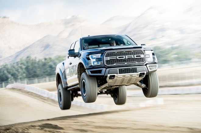 2017 Ford Raptor In The Air