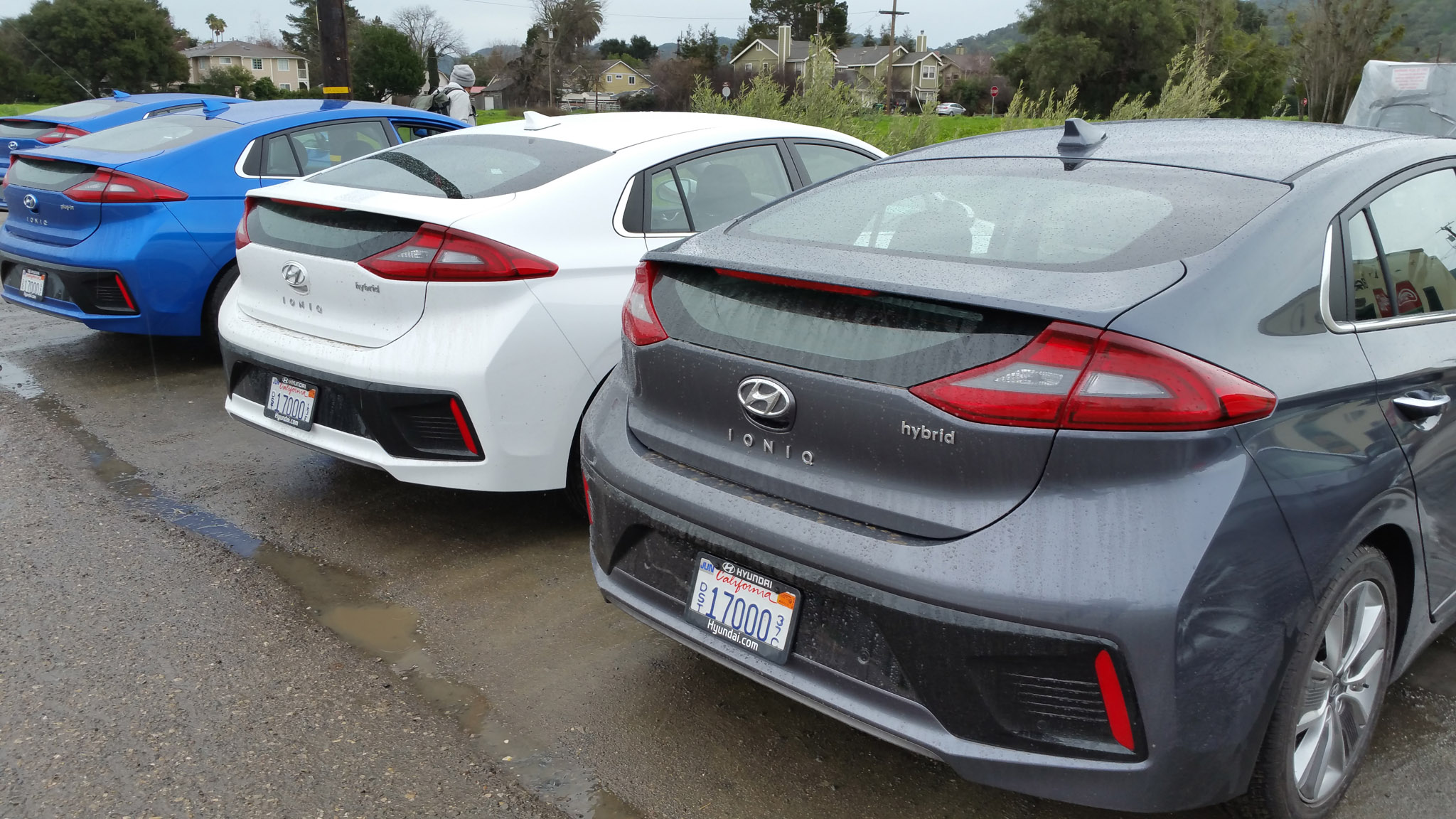 First Drive 2017 Hyundai Ioniq Hybrid And Electric