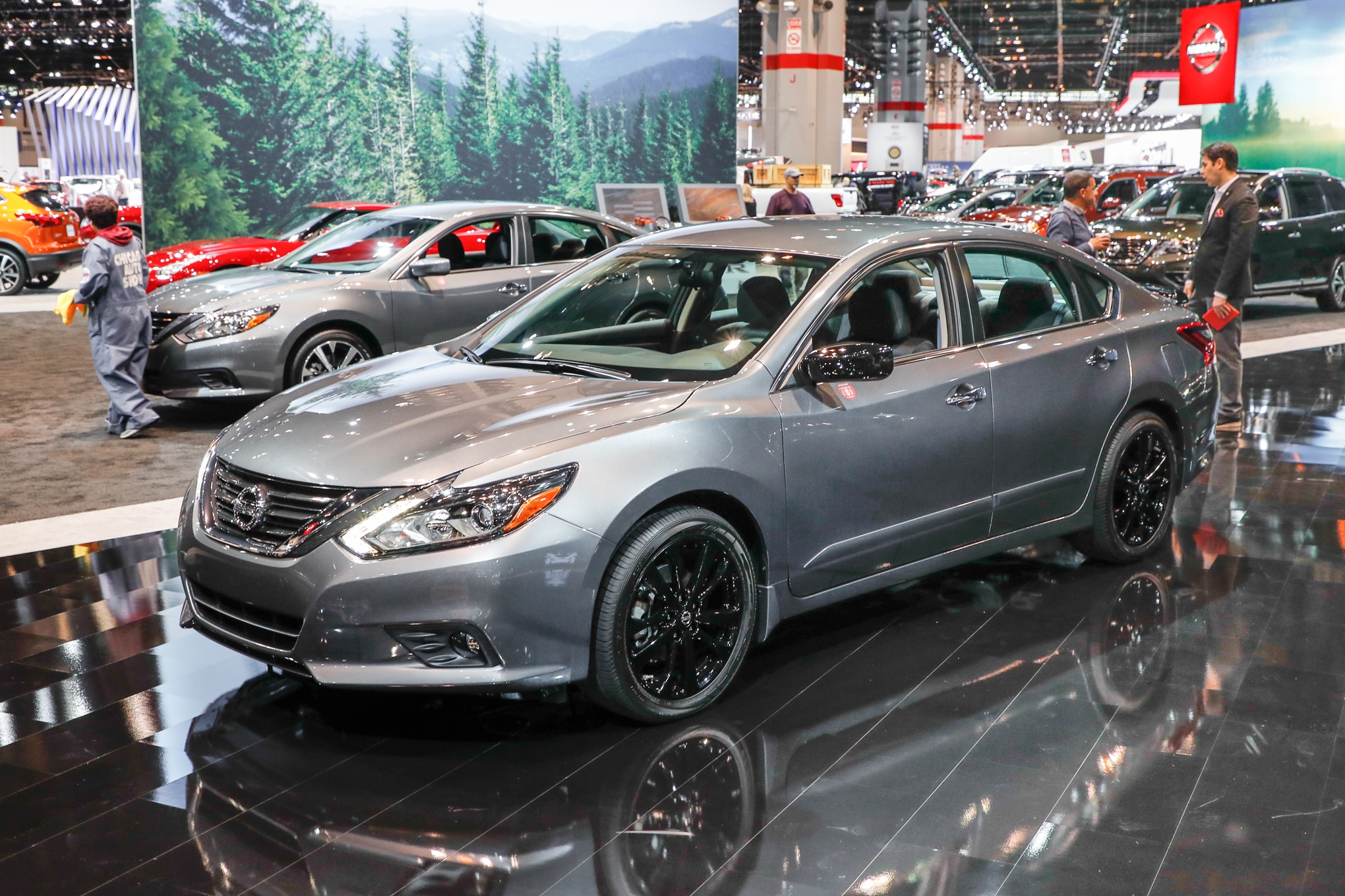 nissan adds special midnight edition package to six models