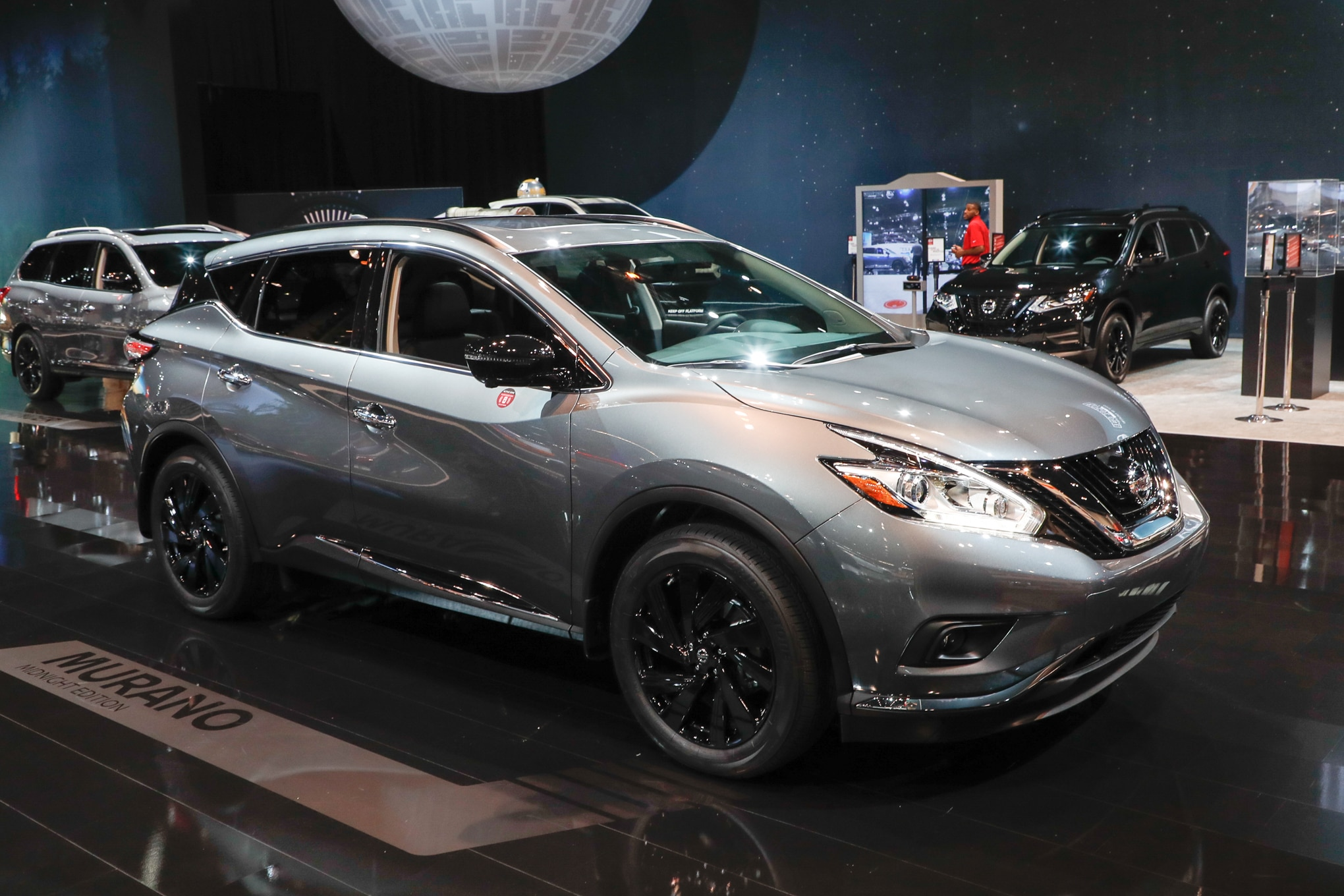 murano nissan 2021 midnight edition platinum redesign package special exterior front models specs suv rogue rear bumper wheels starts awd