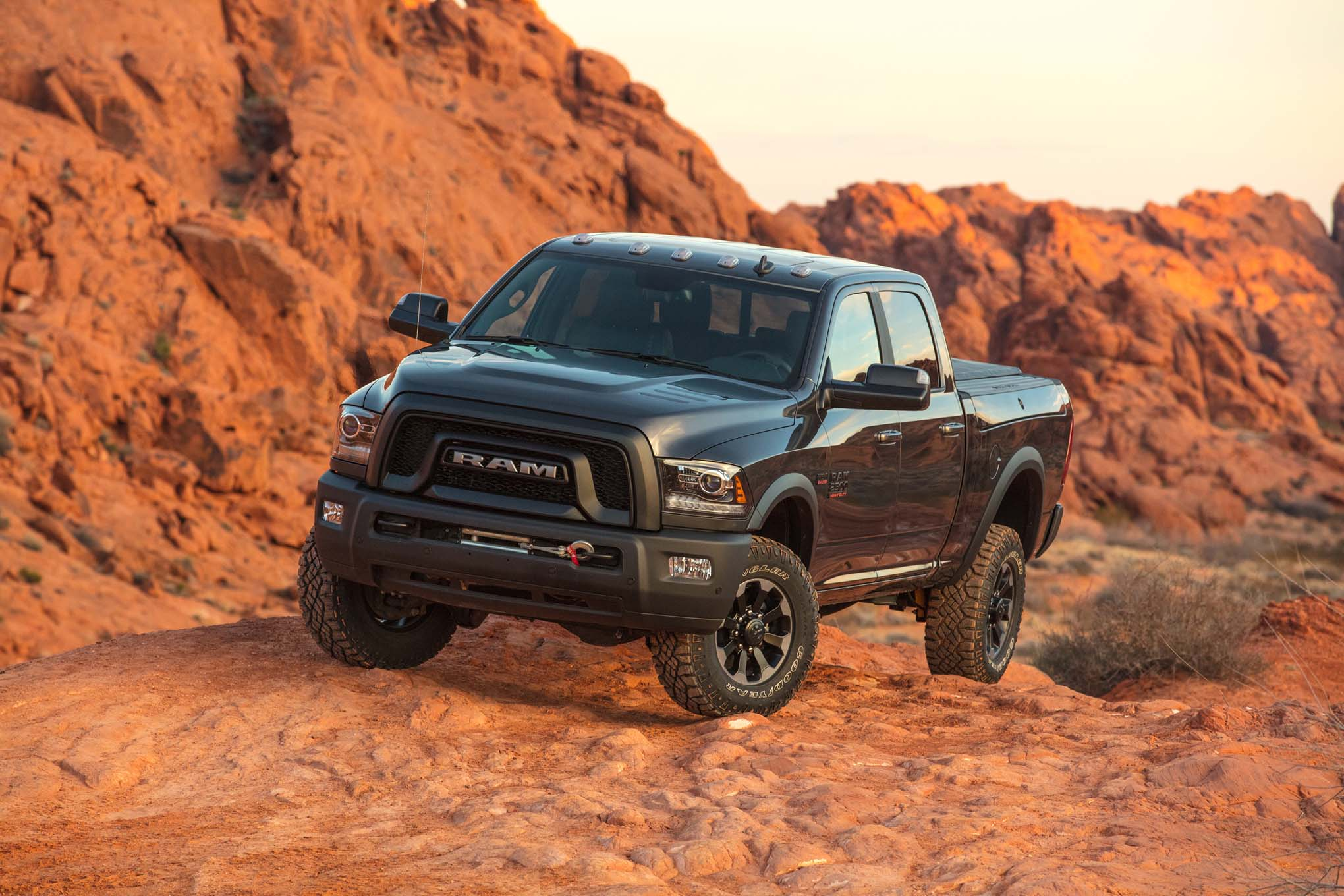 2017 Ram 2500 Power Wagon Front Three Quarter 03