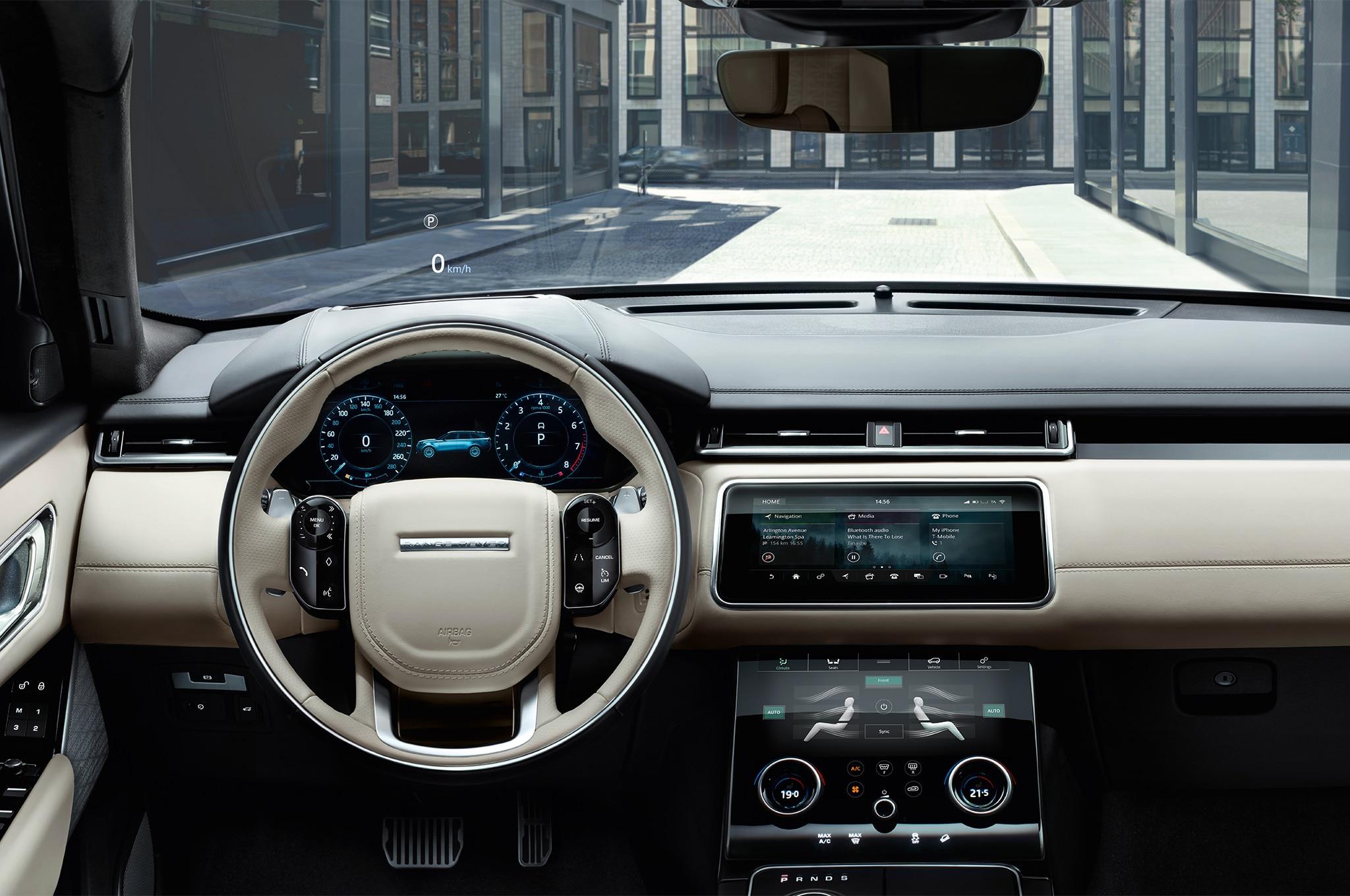Range Rover Velar 2018 Interior >> First Look: 2018 Range Rover Velar | Automobile Magazine