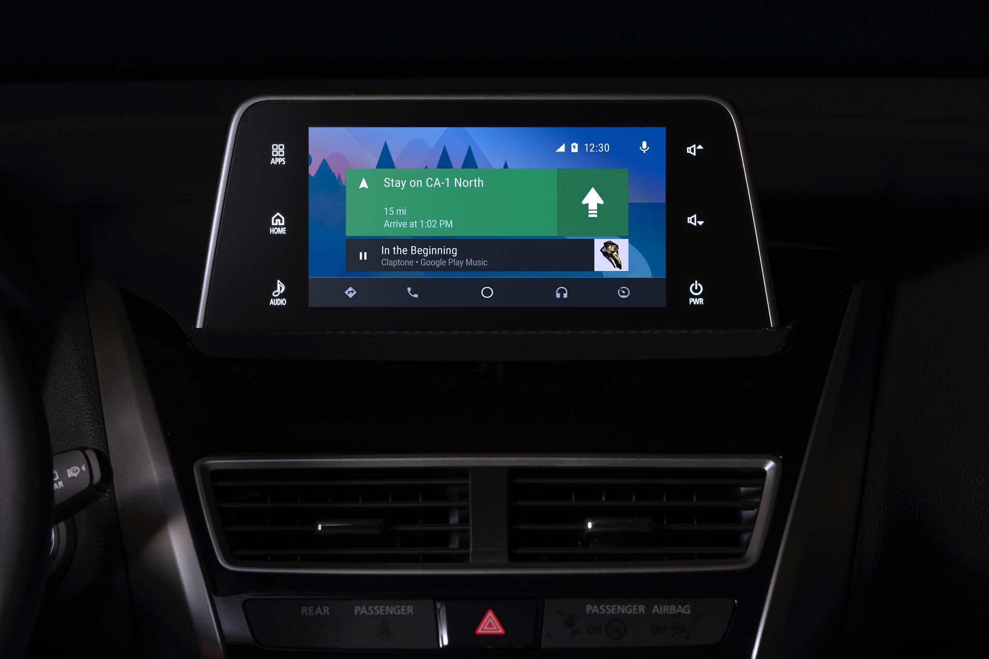 2018 Mitsubishi Eclipse Cross Navigations Screen 1
