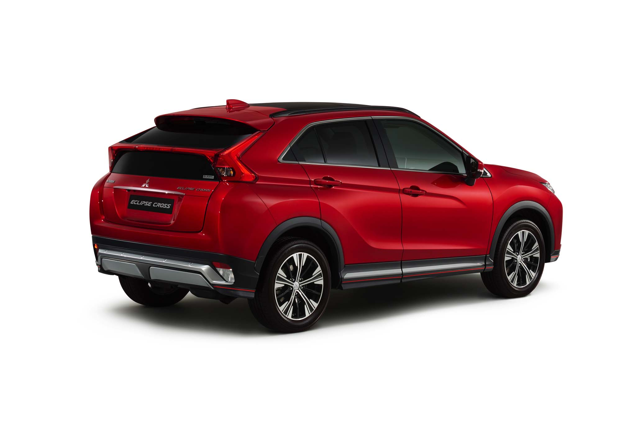 2018 Mitsubishi Eclipse Cross Rear Three Quarter 02 1