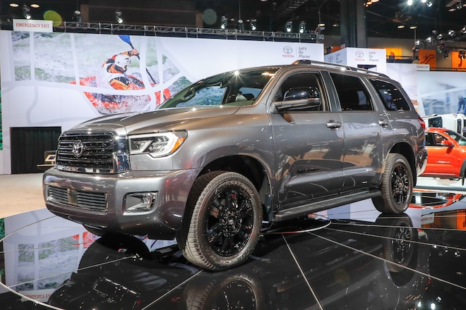 2018 Toyota Sequoia: Refreshed, Changes, TRD Sport, Price >> Toyota Sequoia And Tundra Trd Sport Rav4 Adventure Join Lineup For