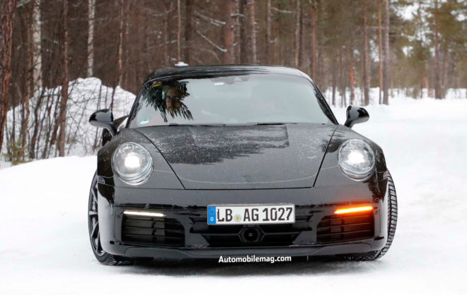 2019 Porsche 911 prototype front end 02