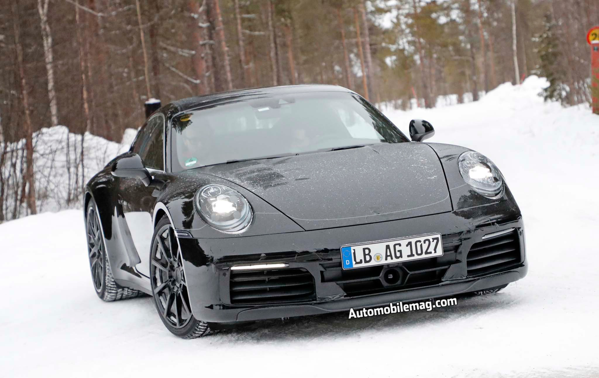 2019 Porsche 911 Prototype Front End 04