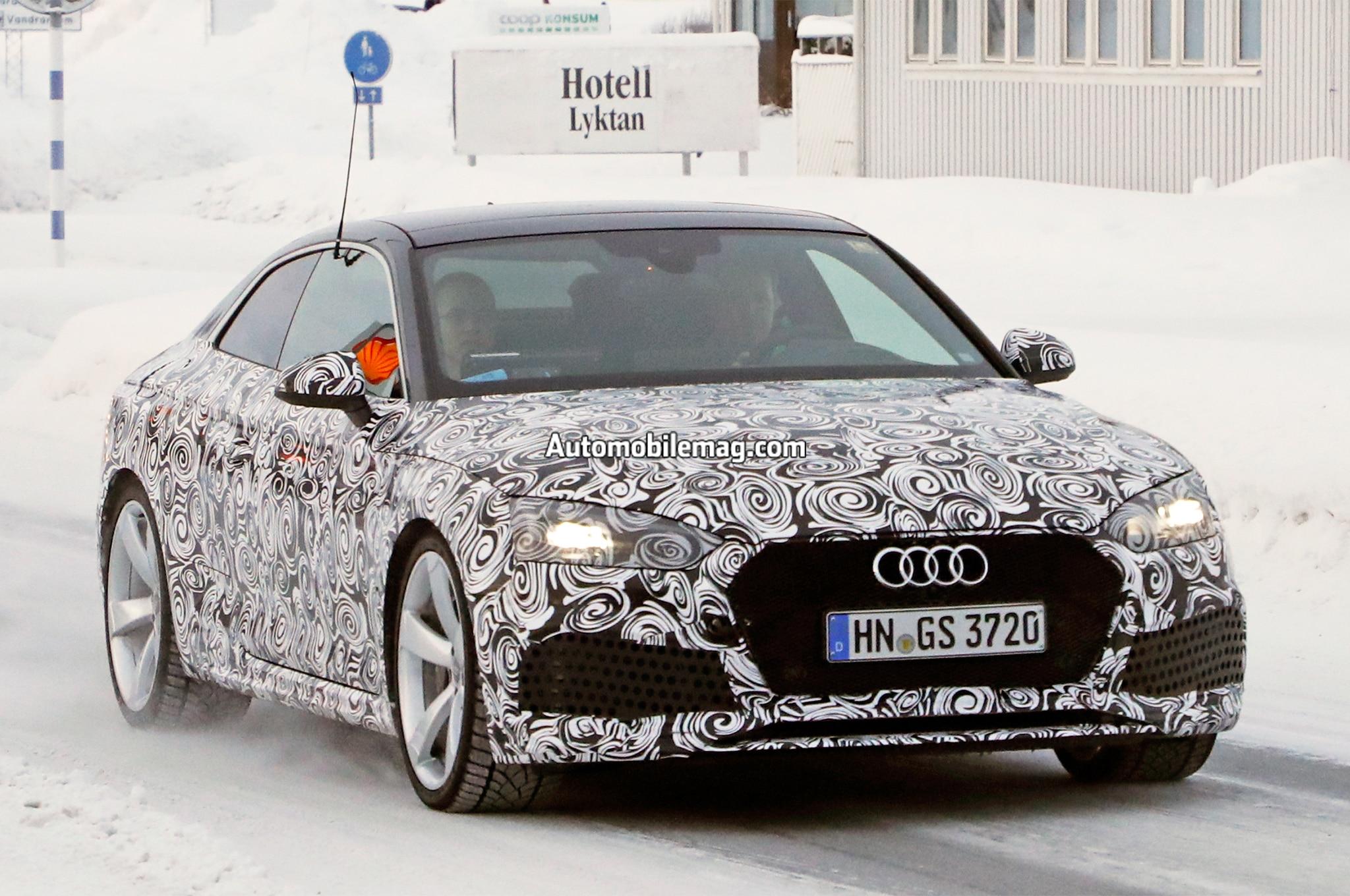 Audi RS5 Spy Photos 06