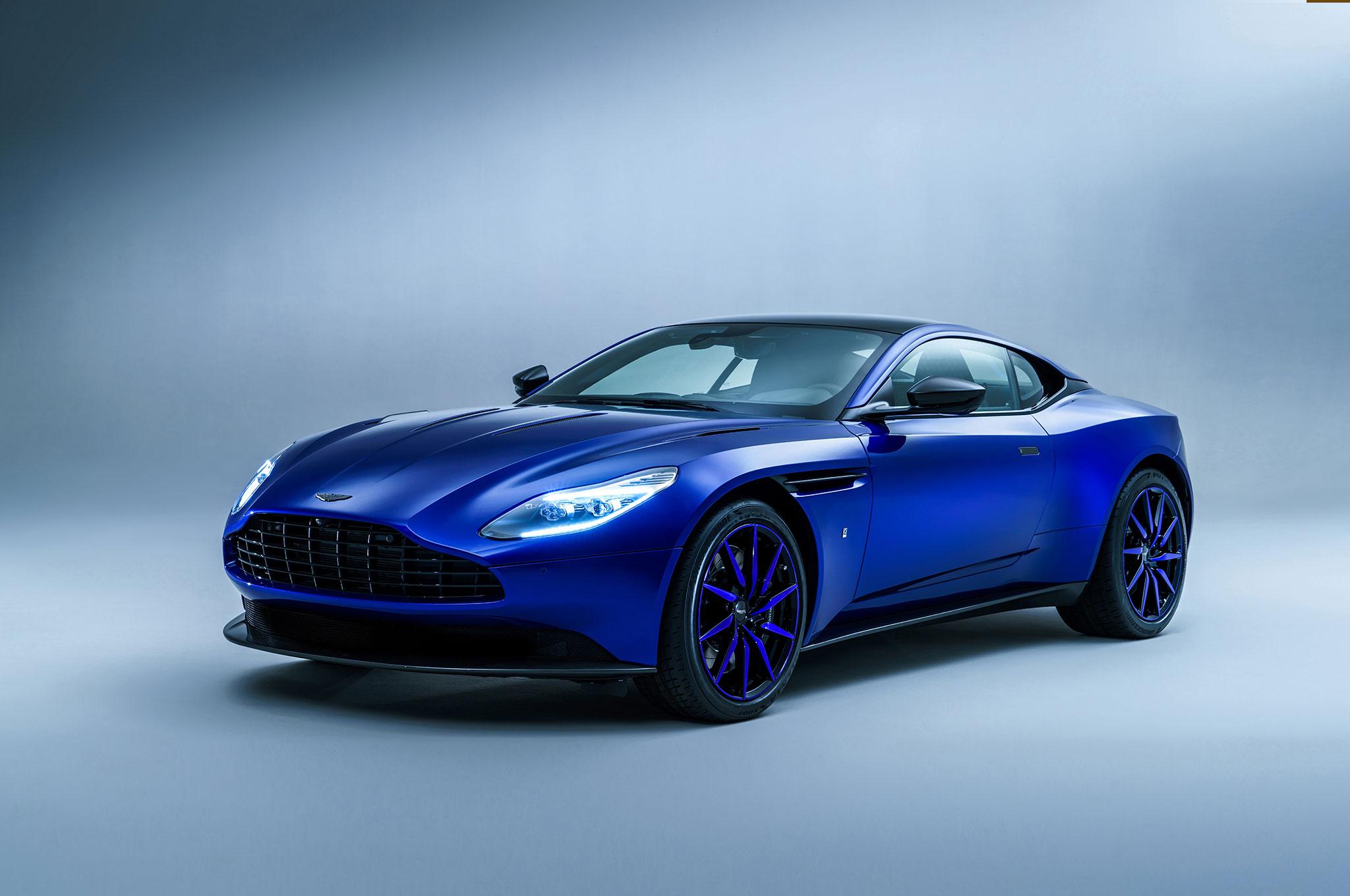 DB11 Q By Aston Martin Front Three Quarter