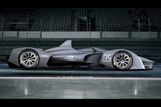 Formula E SRT05e Render Profile View 1