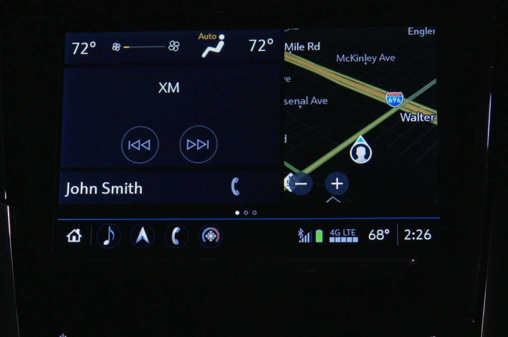Next Gen Cadillac CUE Summary View feature