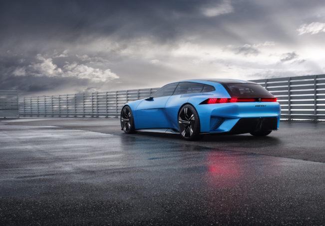 Peugeot Instinct Concept Rear Three Quarter
