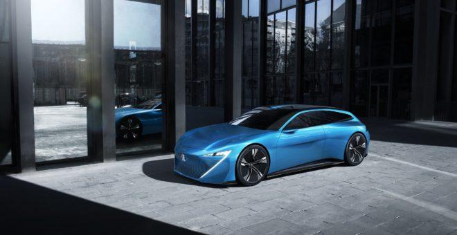 Peugeot Instinct Concept Side