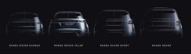 Range Rover Velar Lineup