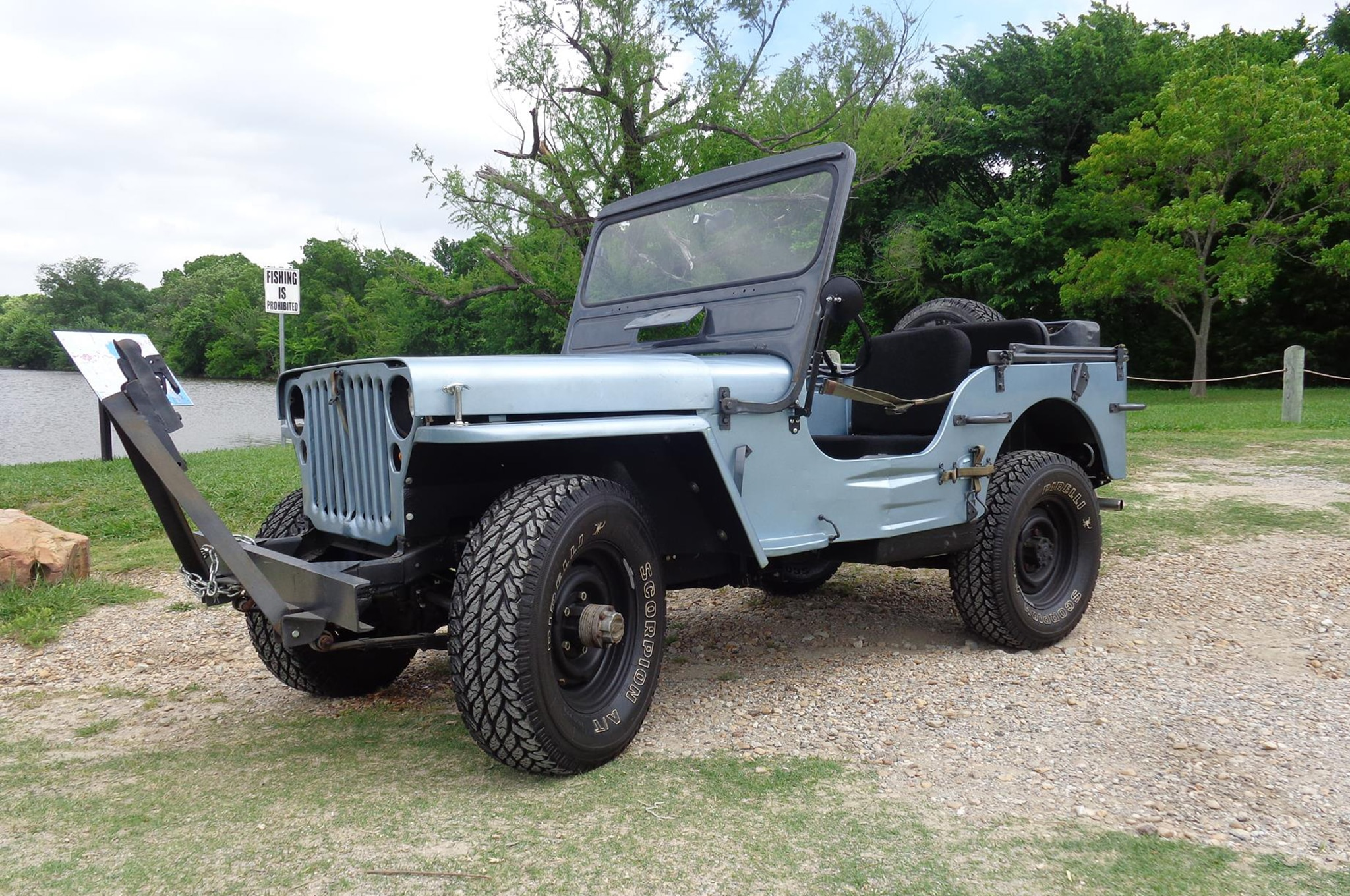 Ford Gpw Just Listed Front Three Quarters on Willys M38 Engine
