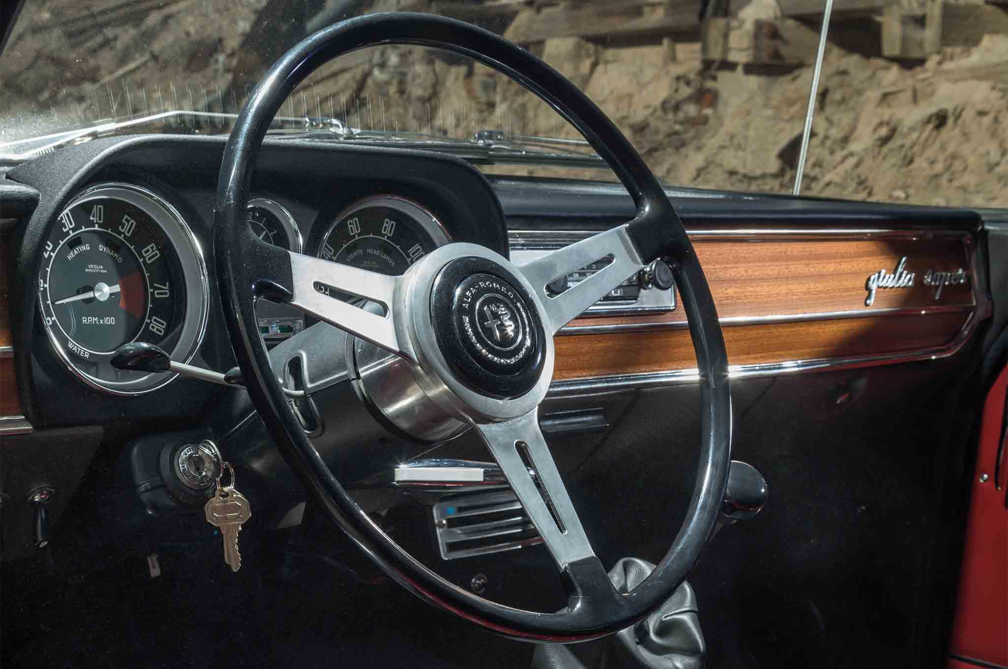 The 2017 Alfa Romeo Giulia Meets Its Predecessors In Wild West Steering Wheel 4 18