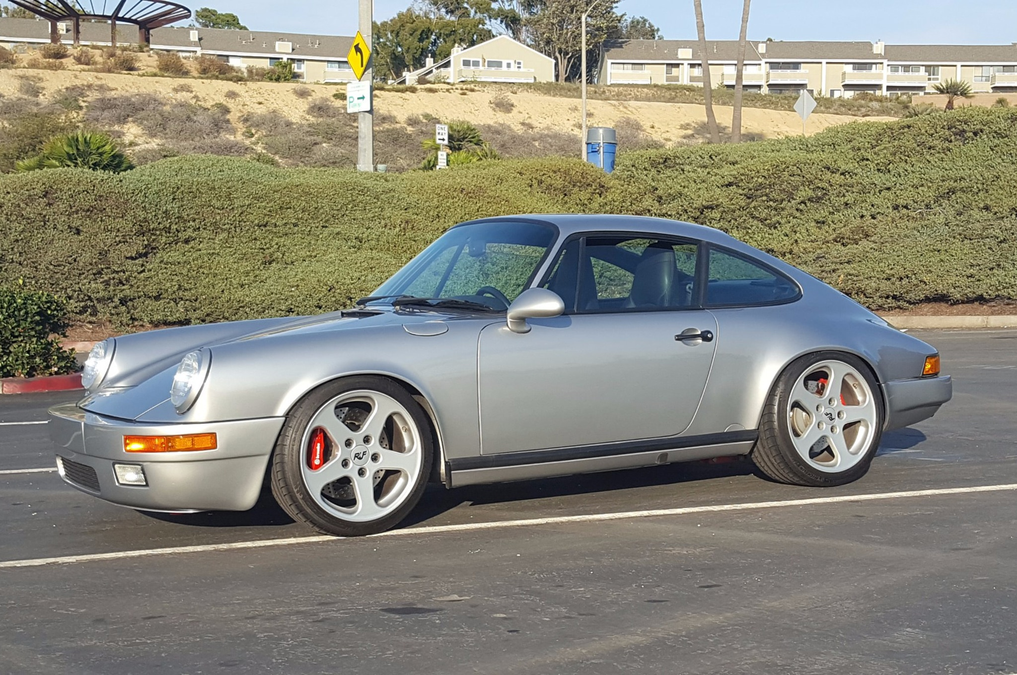 1975 Porsche 911 Restomod Just Listed Front Side