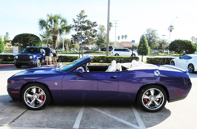Just Listed: 2016 Dodge Challenger Hellcat Convertible   Automobile
