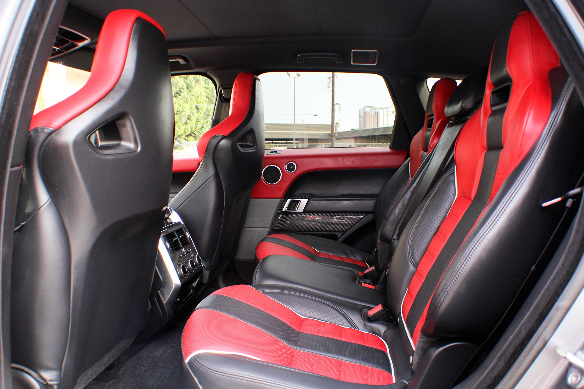 One week with 2016 range rover sport svr automobile - Range rover with red leather interior ...