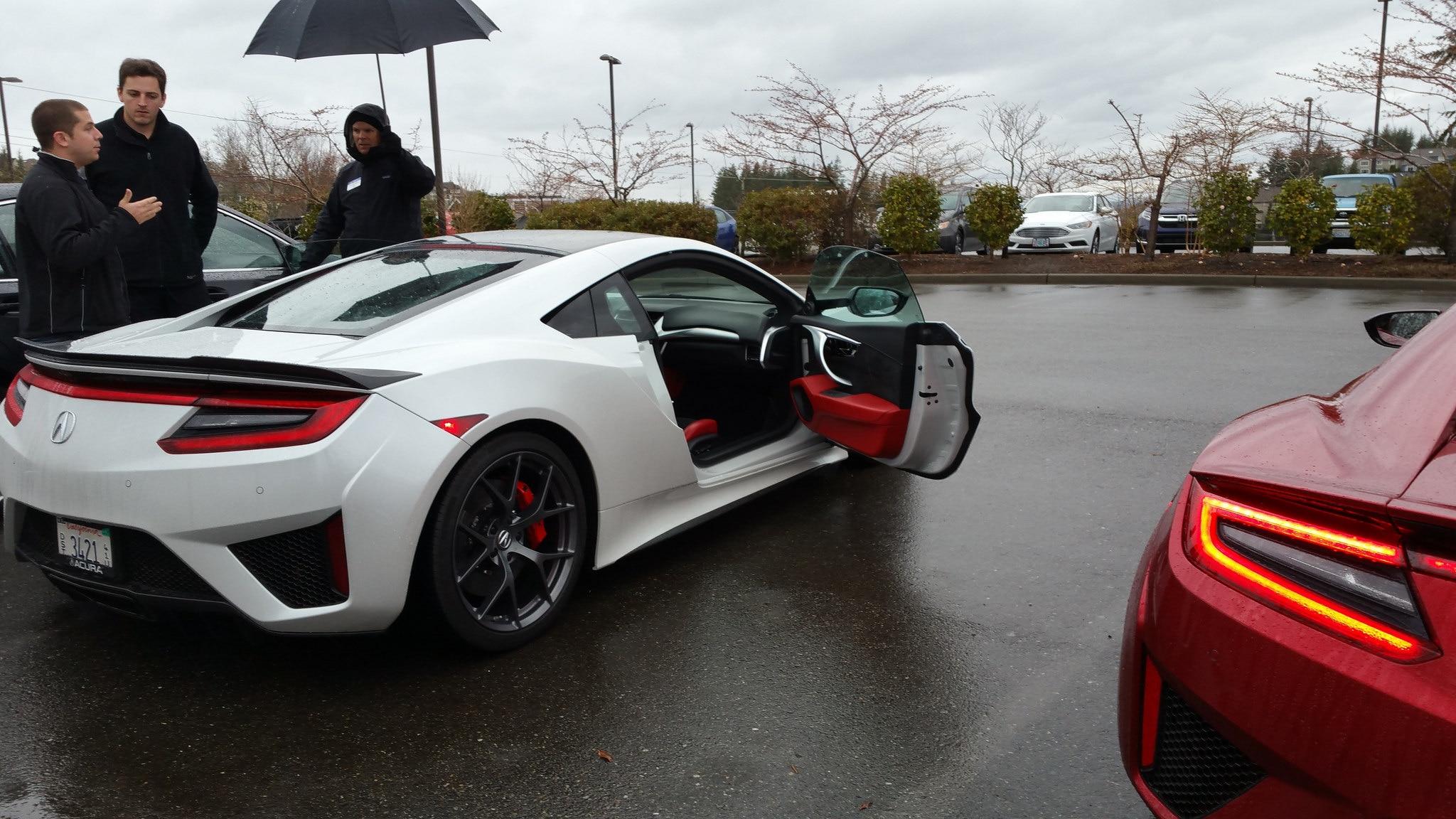 A Rainy Day in a 2017 Acura NSX | Automobile Magazine