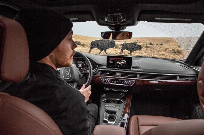 2017 Audi A4 Allroad cabin