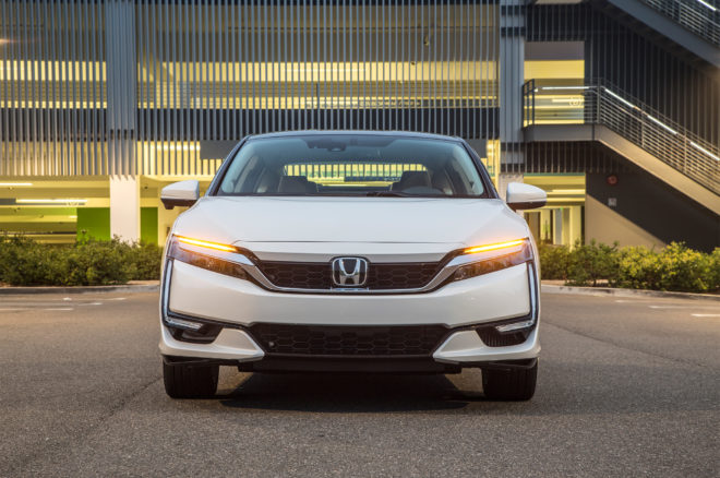 First Drive 2017 Honda Clarity Fuel Cell Automobile Magazine