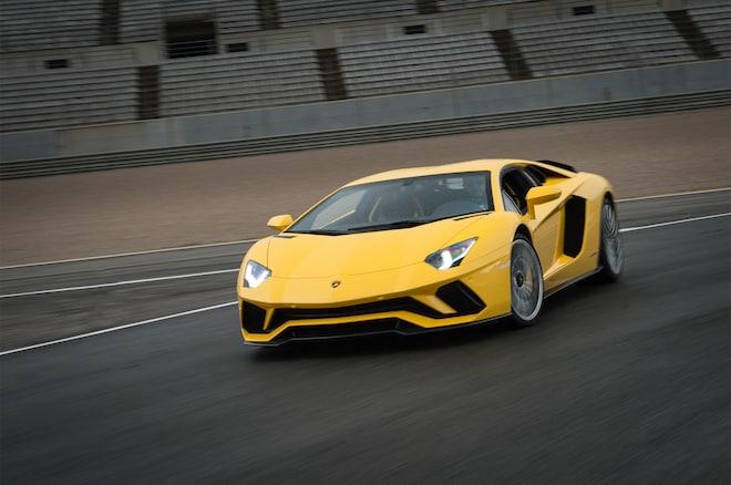 First Drive 2017 Lamborghini Aventador S Automobile Magazine