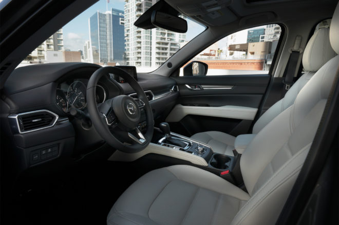 2017 Mazda CX 5 interior