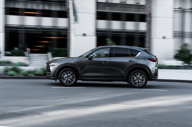 2017 Mazda CX 5 side in motion 03