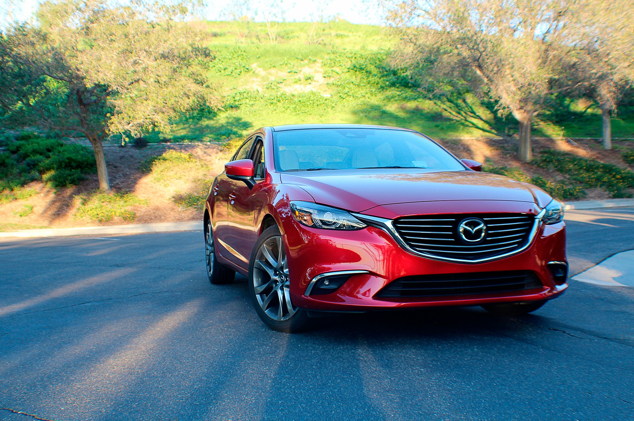 2017 Mazda6 Grand Touring Front End 02