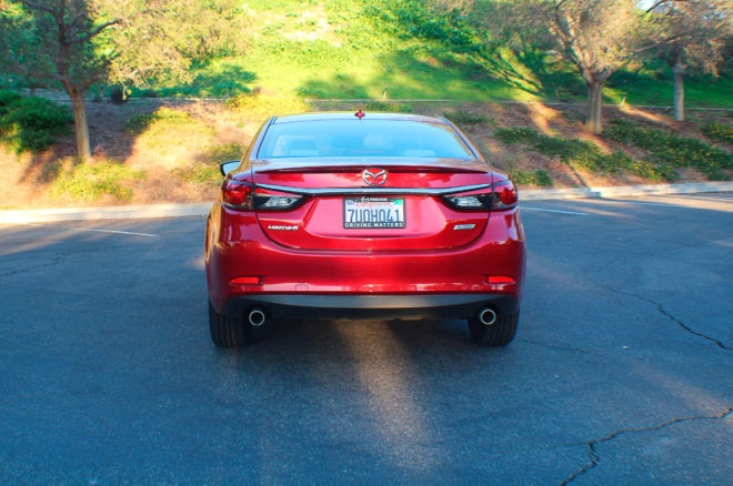 2017 Mazda6 Grand Touring rear end