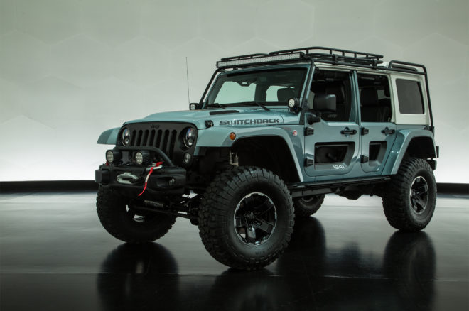 2017 Moab Easter Jeep Safari Switchback concept front three quarter