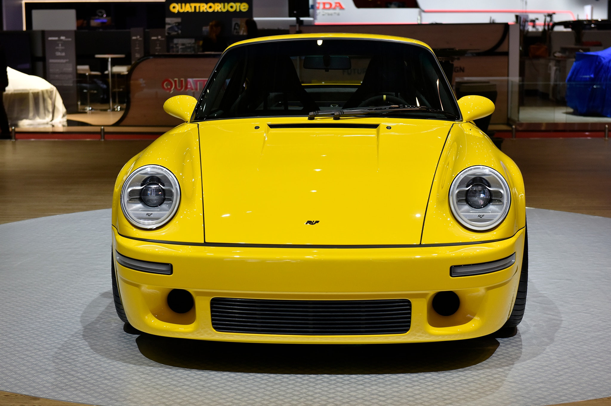 2017 Ruf Ctr Is A Clean Sheet 700 Horsepower Yellowbird
