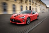 2017 Toyota 86 860 Special Edition front three quarter in motion