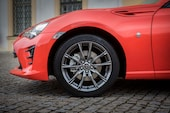 2017 Toyota 86 860 Special Edition front wheels