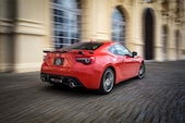 2017 Toyota 86 860 Special Edition rear three quarter in motion
