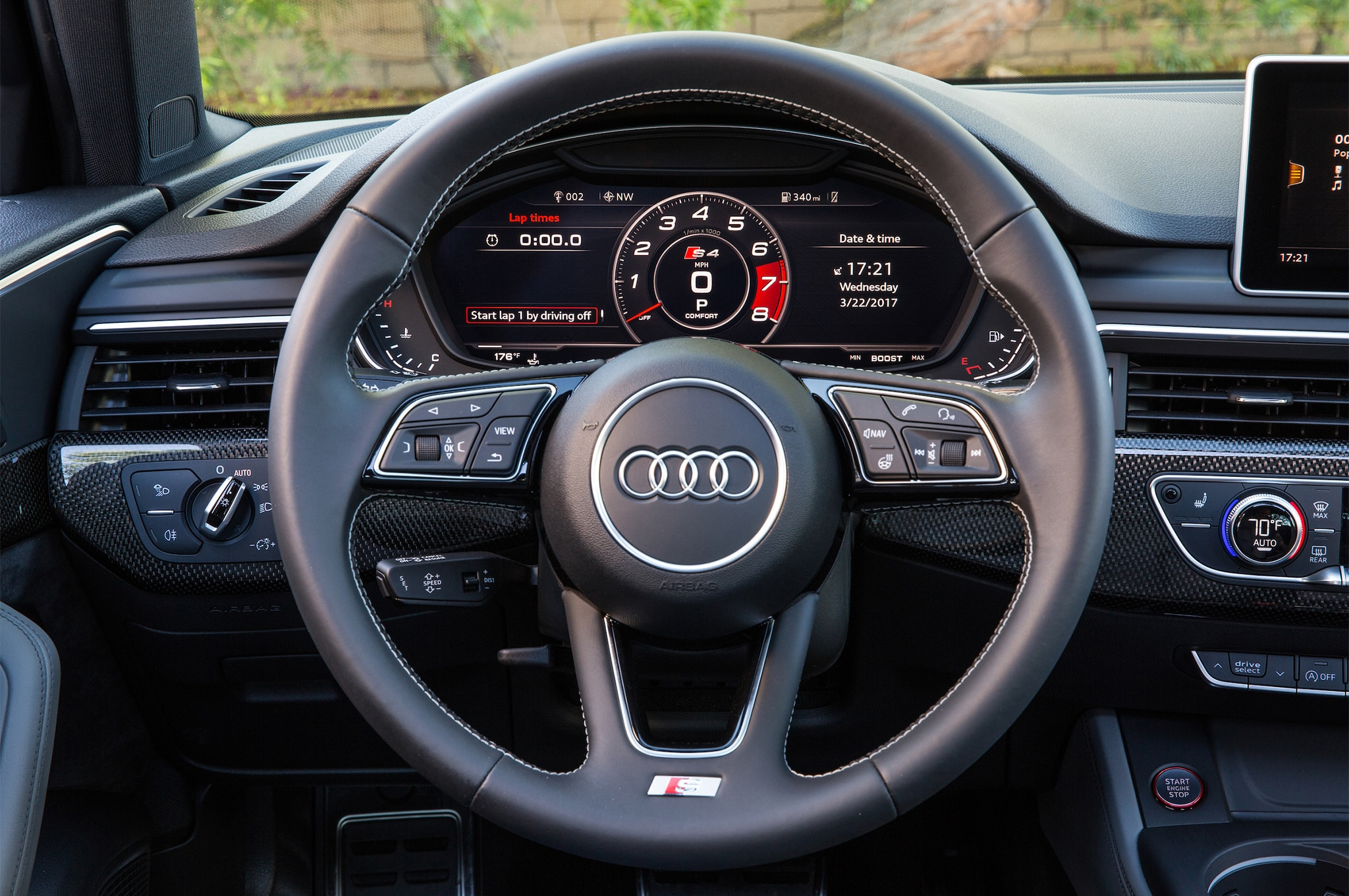 First drive 2018 audi s4 automobile magazine for Benetton 4 wheel steering