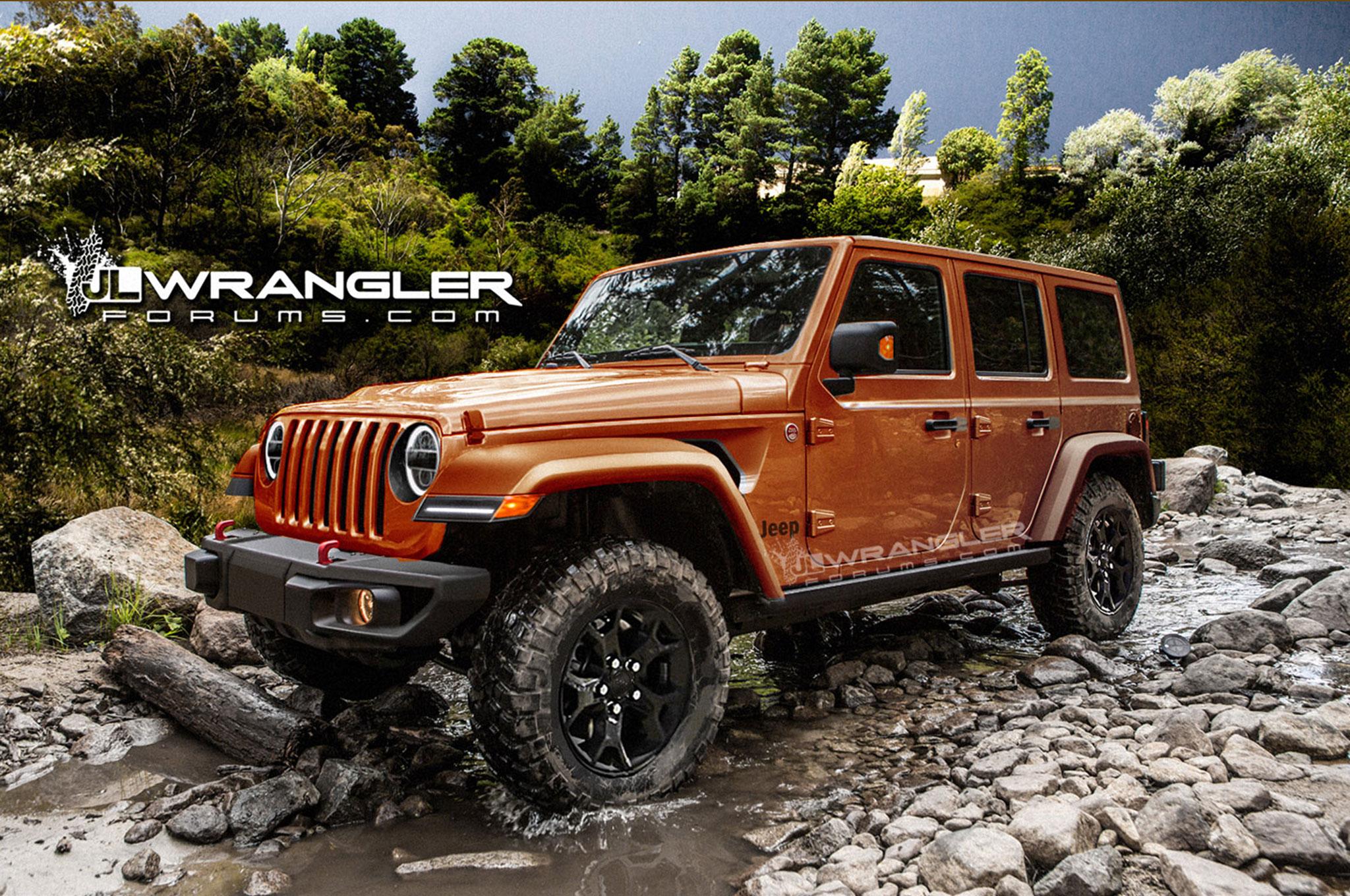 2018 Jeep Wrangler Unlimited Render 2