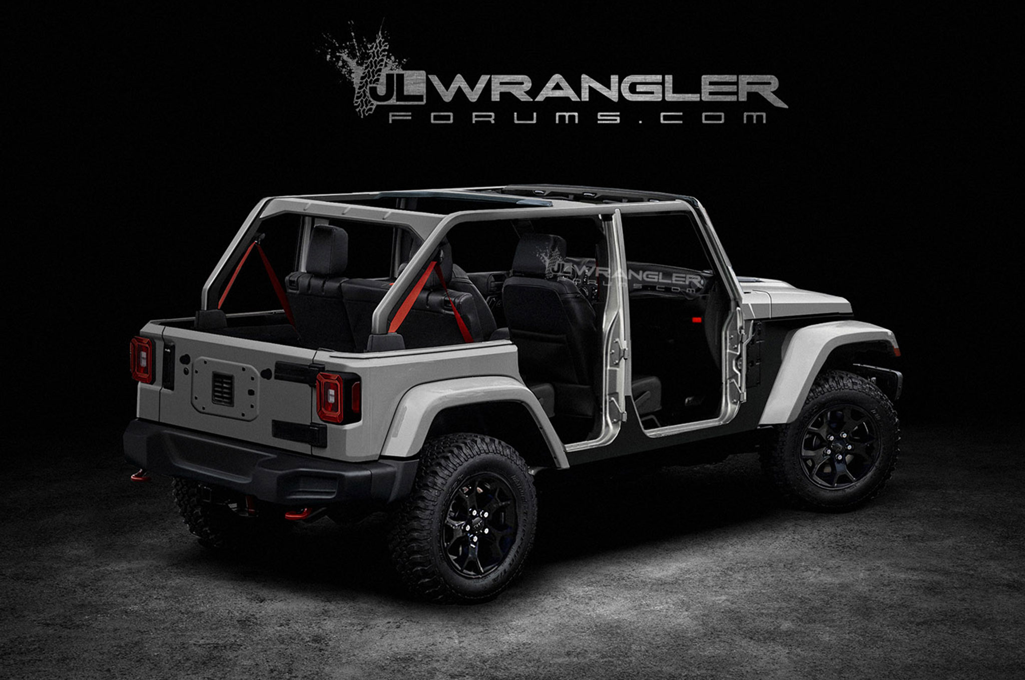 Unofficial Renderings of the Jeep Wrangler Unlimited ...