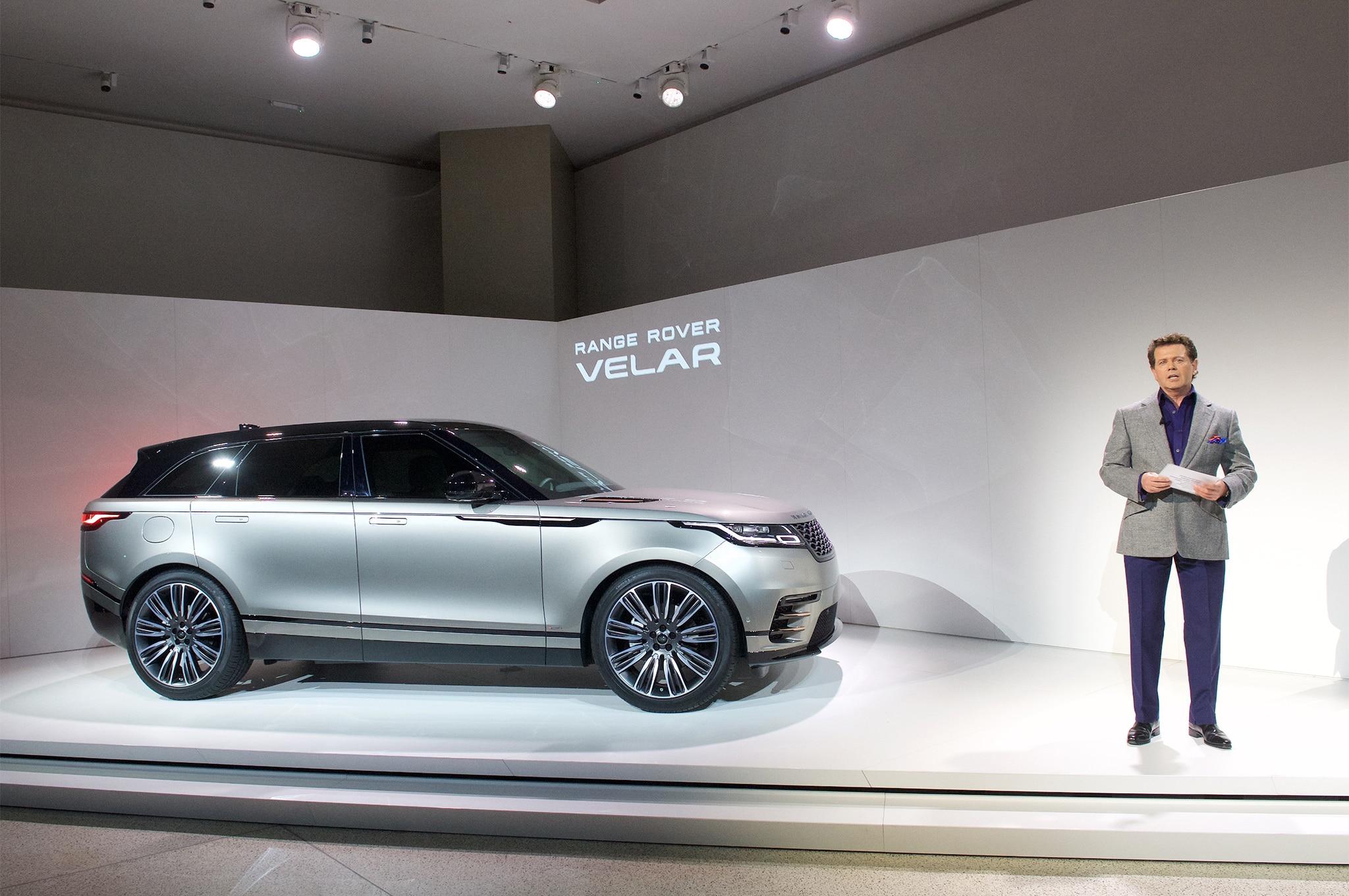 First Look: 2018 Range Rover Velar | Automobile Magazine