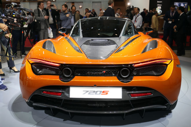 2018 McLaren 720S rear end