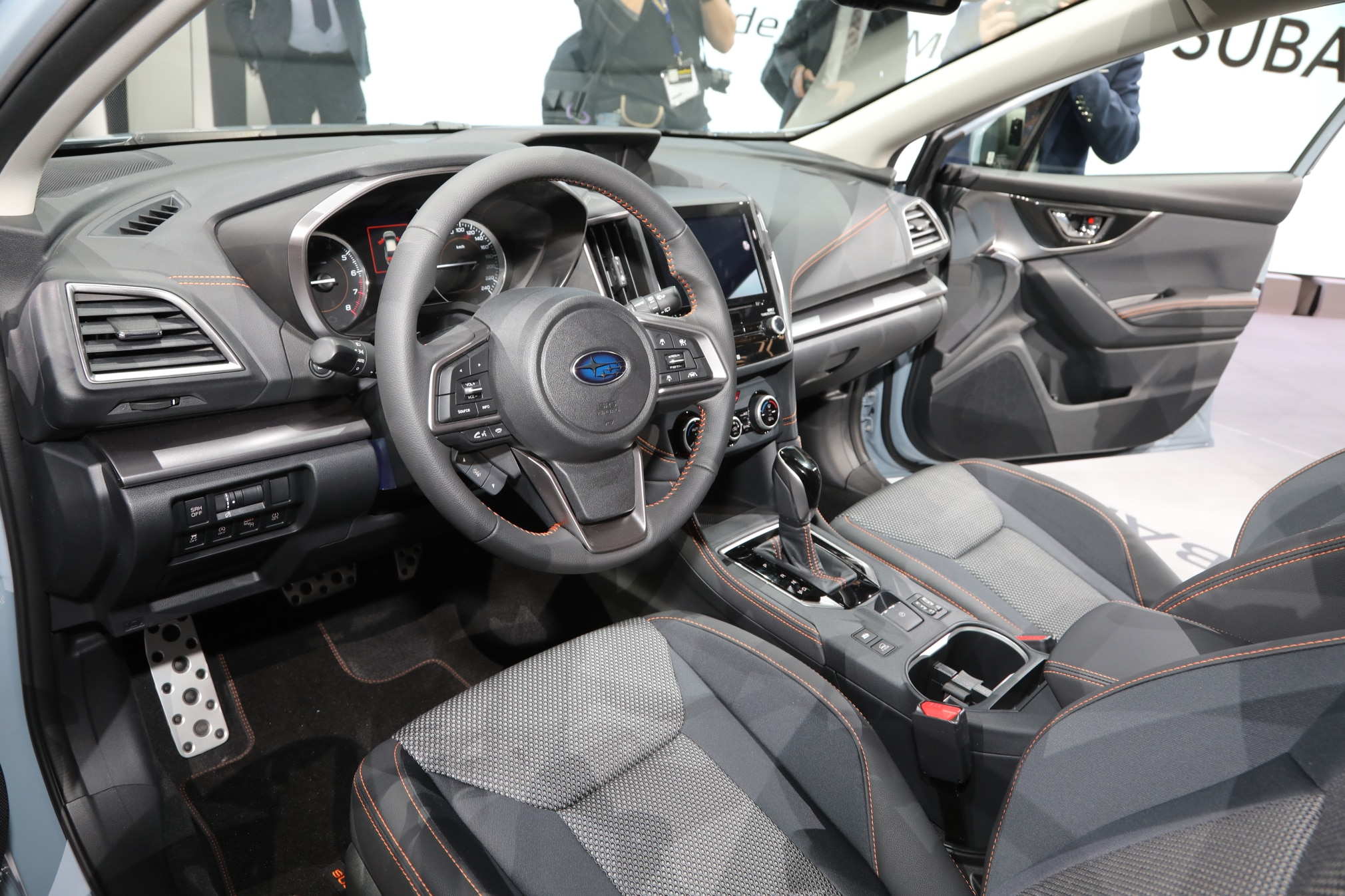 2018 subaru crosstrek debuts in geneva automobile magazine for Subaru crosstrek 2017 interior