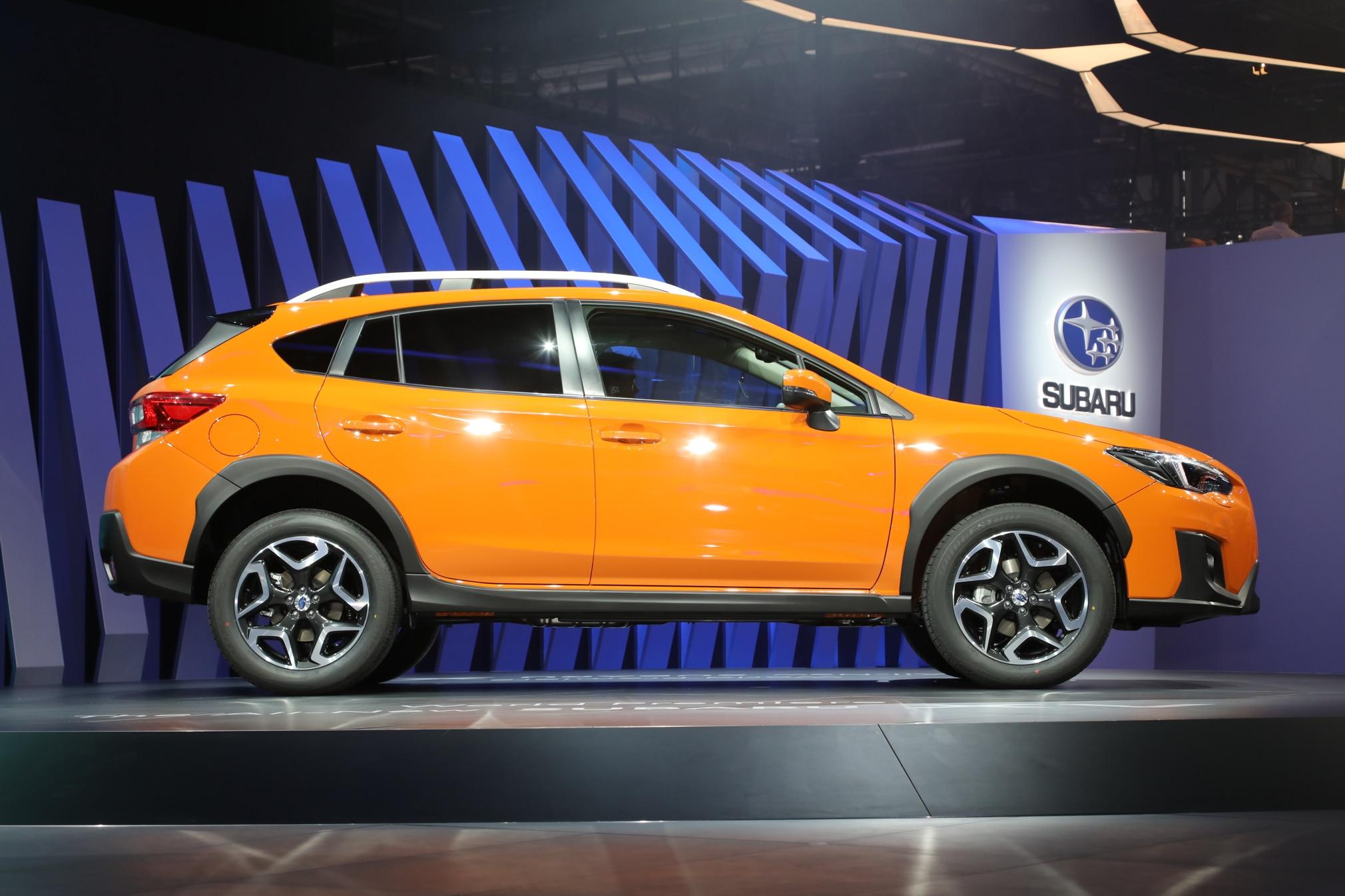 2018 Subaru Crosstrek Debuts In Geneva