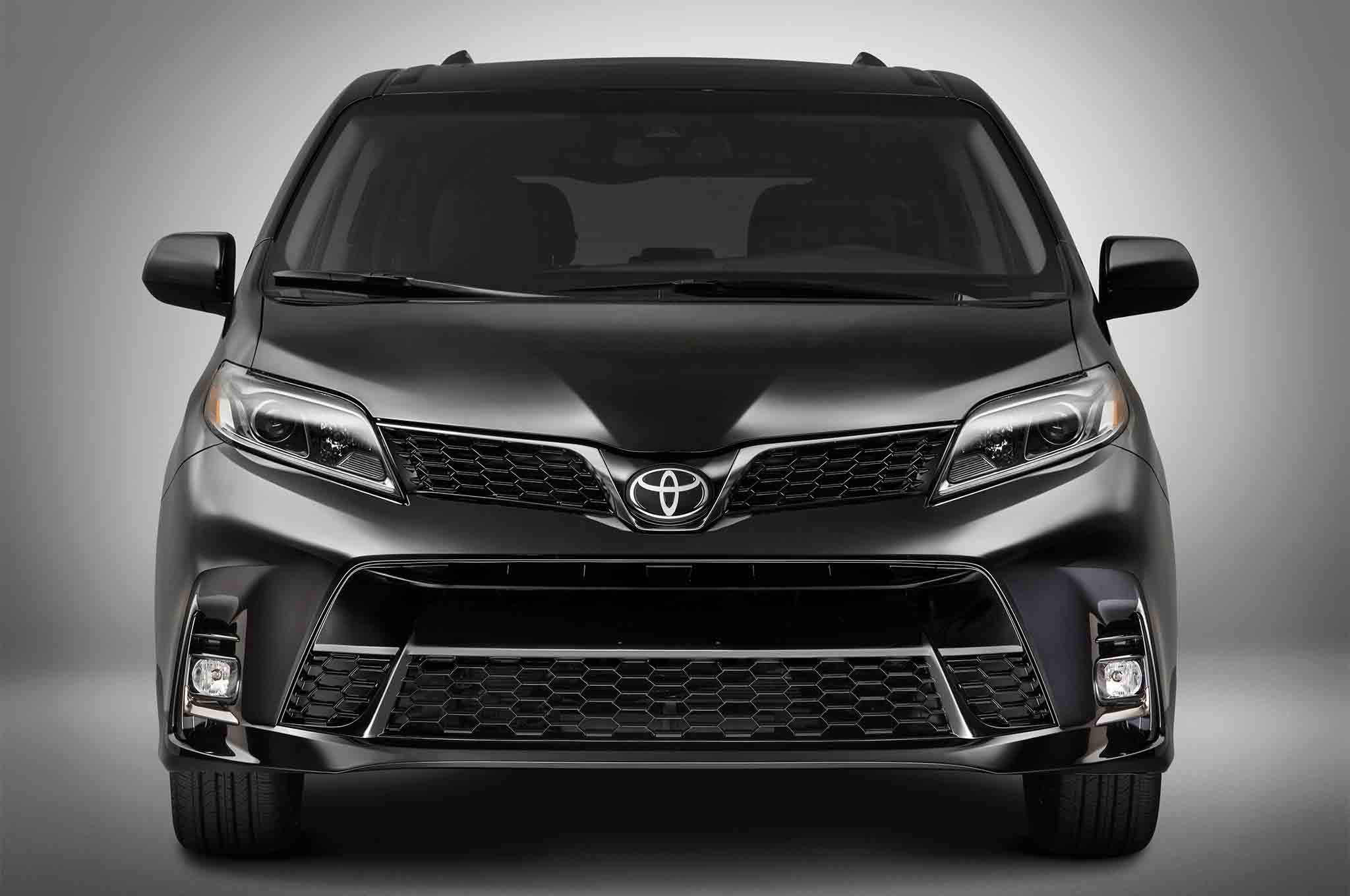 Toyota Van 2018 >> 2018 Toyota Sienna Receives a Fresh Look | Automobile Magazine