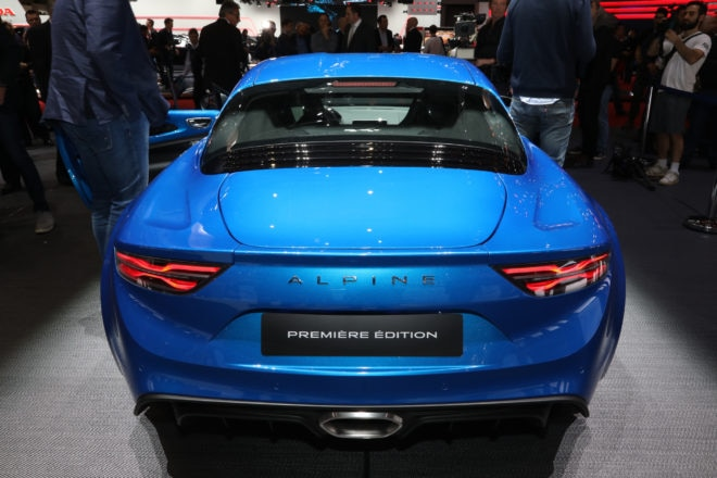 Alpine A110 rear end