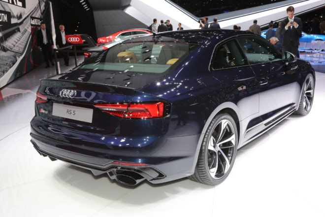 Audi RS 5 Coupe rear three quarter