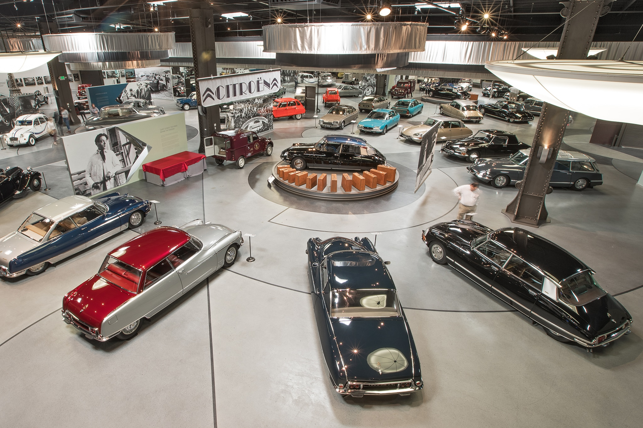 Citroen Exhibit At The Mullin Automotive Museum 41