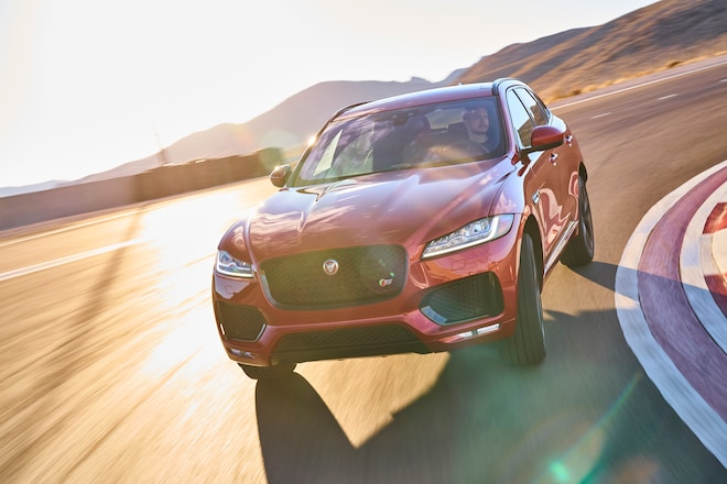 Jaguar F Pace 2017 All Stars Contender Front 02