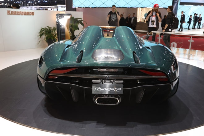 Koenigsegg Regera rear end